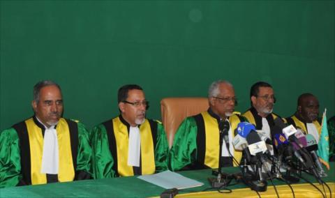 نواكشوط: تنصيب عضوين بالمجلس الدستوري