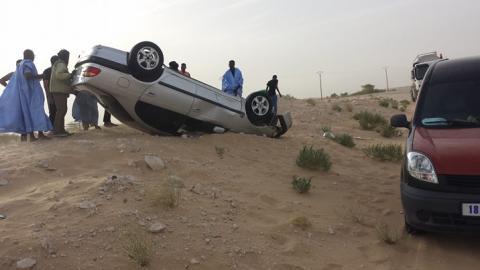 إصابات متفاوتة في حادث سيربالقرب من مدينة أشرم (تفاصيل)