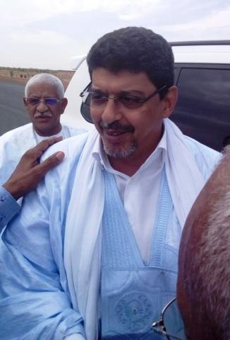 انشيري: استقبال حاشد لرئيس الحزب الحاكم