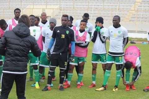 المنتخب الوطني للمحليين يفوزعلى نادي مستقبل المرسى 1-0، في المباراة الودية