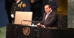 نقاش دولى حول  البديل المدنى لحكم مصر حال اعفاء السيسى  من الرئاسة
