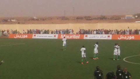 المنتخب الوطني للمحليين يخسر من ليبيريا0-1في لقاء الاياب على ملعب الزويرات