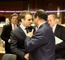 رئيس الجمهورية: يلتقي ماكرون على هامش قمة بروكسل (تفاصيل)