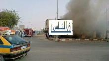 نواكشوط/ حريق يأتي على محل تجاري