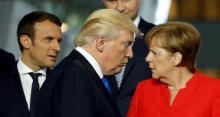لقاء بين ميركل والرئيس الأمريكي يحدد إيقاع قمة مجموعة العشرين