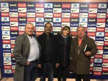 نادي اتلنتيكو مدريد بصدد عقد اتفاق شراكة مع حمي ولد حبيب ولد الطنجي