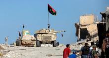 مدينة بنغازي  تنفض عن نفسها مخلفات سنوات قاسية