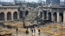 معالم أثرية دمرتها الحرب في حلب