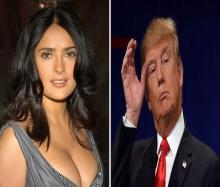 الممثلة الأمريكية المشهورة سلمى حايك: رفضت مواعدة ترامب منذ عدة سنوات
